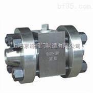 Q61N高压对焊球阀,焊接球阀