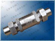 天然氣高壓焊接單向閥