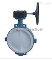 蝸輪對夾式襯氟蝶閥 上海滬工閥門 品質保證