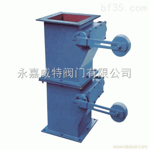 双层单双电动锁风翻板阀有两个密封图片