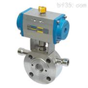BQ671F超薄型保温气动球阀