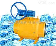 大连天然气管网截断调节全焊接球阀Q367H-40C DN500