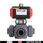 三通UPVC球阀,塑料球阀进口三通UPVC球阀,中国上海制造生产