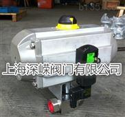 Q611N气动高压螺纹球阀