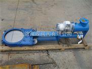 对夹式电液动浆液阀,耐磨浆闸阀