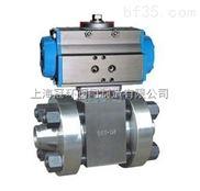 上海冠环Q641N高压气动球阀,上海高压阀门厂家