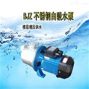 不锈钢自吸泵 广东凌霄BJZ037家用楼层自来水管增压泵