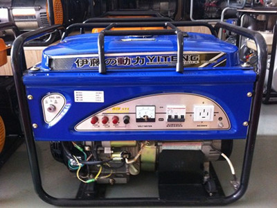 产品库 电机 发电机 汽油发电机 7500w便携式三相汽油发电机   逆功率
